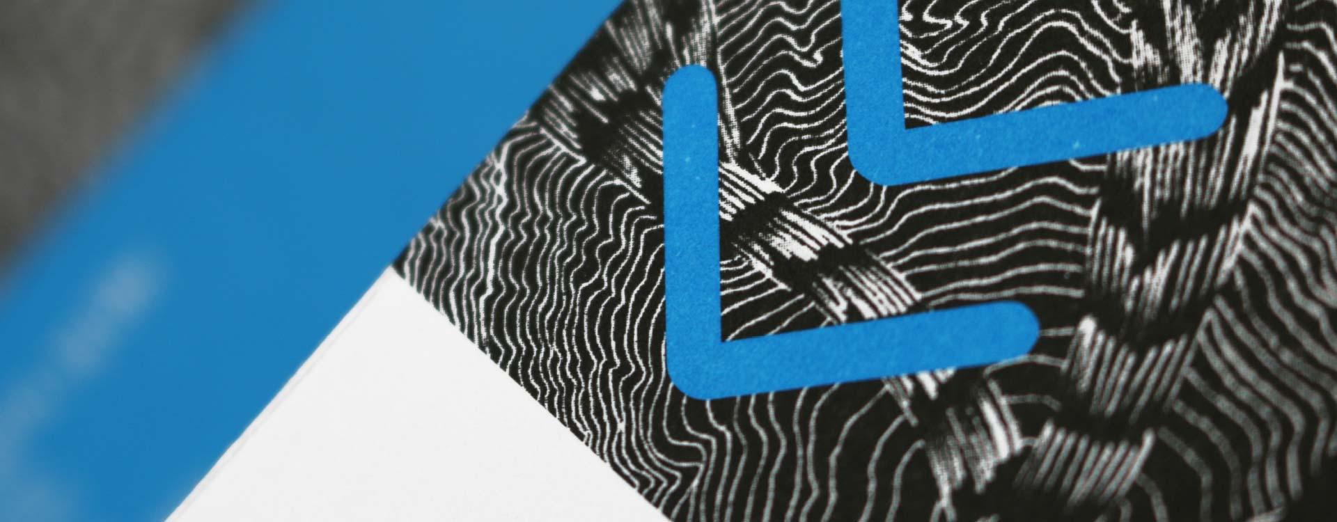 Leaflet for the exhibition Localised Desire in the Alte Feuerwache Project Space Berlin; Design: Kattrin Richter   Graphic Design Studio