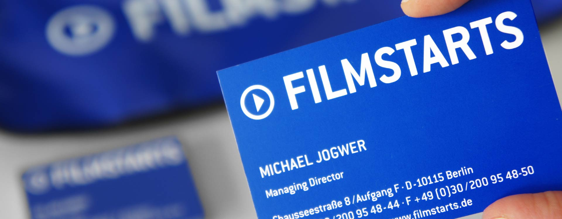 Business card for Filmstarts