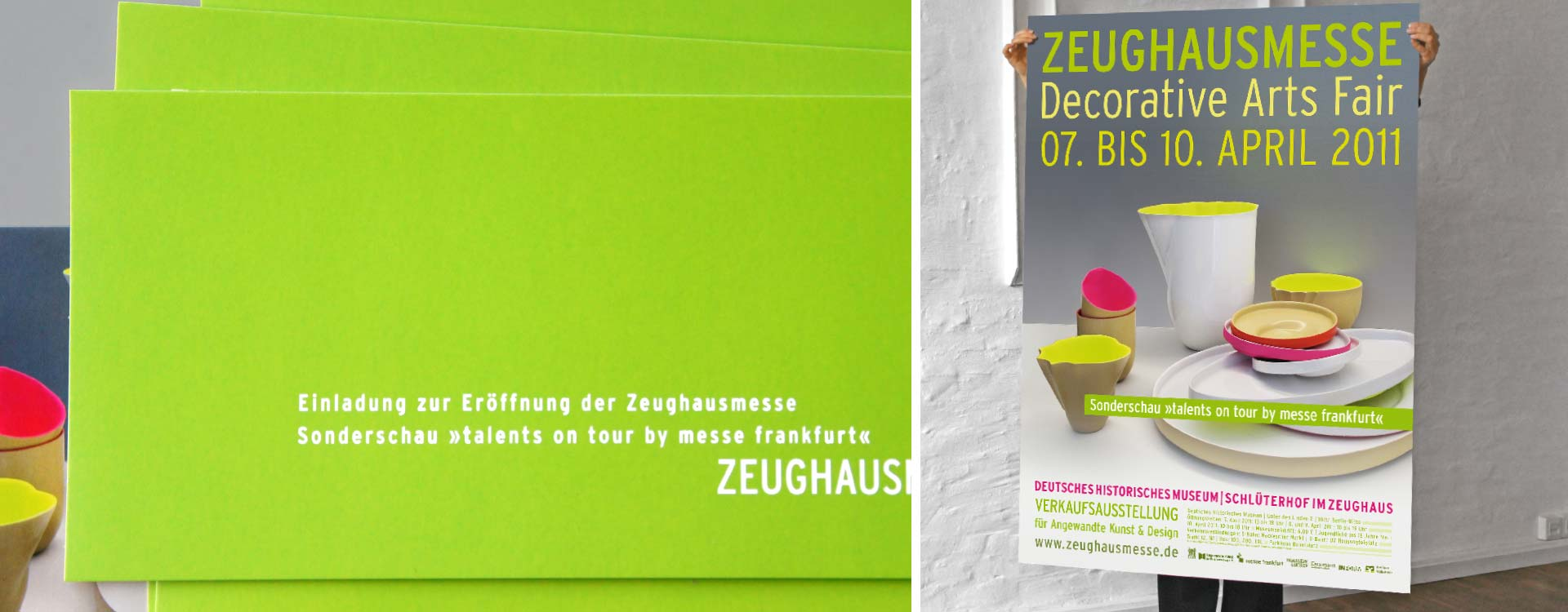 Poster for Zeughausmesse; Design: Kattrin Richter | Graphic Design Studio
